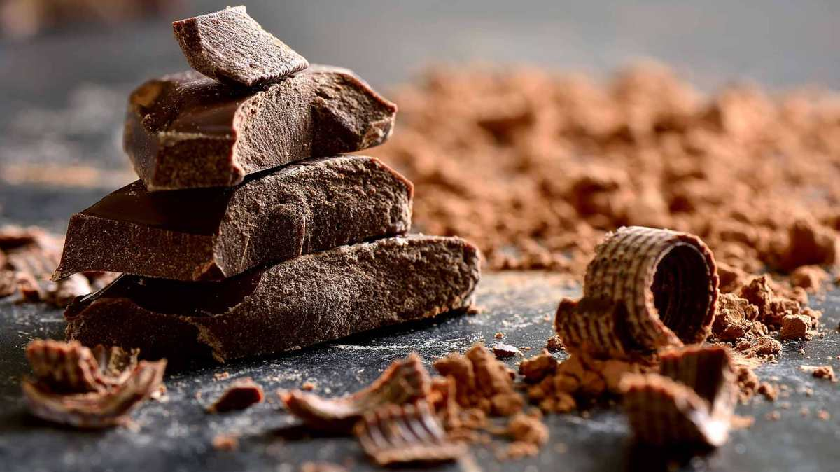 5 Good reasons why you should eat dark chocolate!