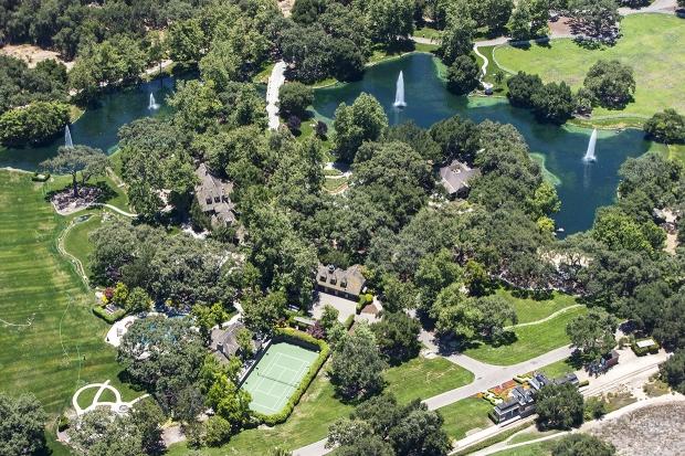 Michael Jackson's former Neverland Ranch, Los Olivos, California, America - 23 Jun 2012