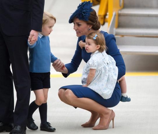 Duke of Cambridge, Duchess of Cambridge, Prince George, Princess Charlotte