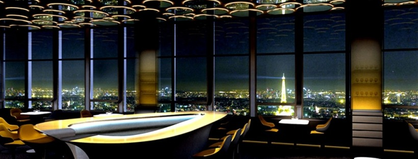 luxury restaurant ciel de paris